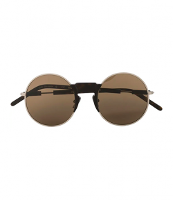 Mask Z2 Silver & Brown Sunglasses