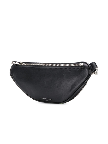ALEXANDER WANG ATTICA SOFT MINI FANNY X BODY BLACK