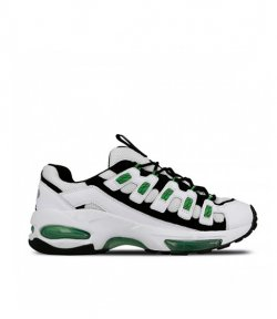 PUMA CELL ENDURA MAN'S SNEAKER WHITE-GREEN