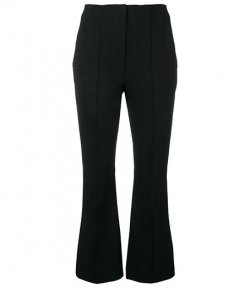 ALEXANDER WANG STRETCH SUITING PANT LOGO ELASTIC DETAIL