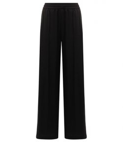 ALEXANDER WANG WASH AND GO WOVEN WIDE LEG PULL-ON PANT