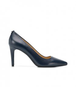 MICHAEL MICHAEL KORS DOROTHY FLEX NAVY LEATHER PUMP