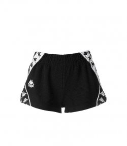 KAPPA BLACK-WHITE SHORT SHORTS