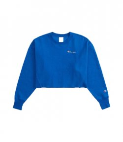 CHAMPION ROYAL BLUE CREWNECK SWEATSHIRT