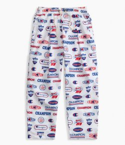 CHAMPION BAGGY LOGO PANTS