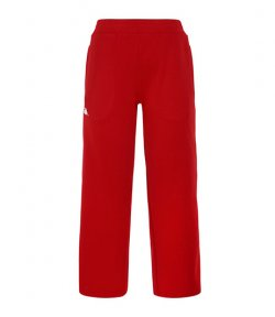KAPPA RED CROP PANTS WITH WHITE STRIPE