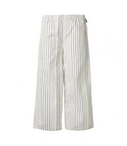 DKNY STRIPE CROP PANT