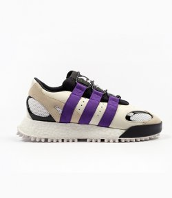ADIDAS x ALEXANDER WANG WANGBODY RUN CREAM/BLACK PURPLE STRIPES