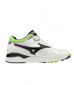 MIZUNO 1906 SKY MEDAL WHITE-PURPLE-GREEN