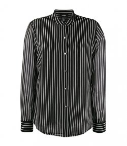 DKNY BLACK/WHITE STRIPES SHIRT