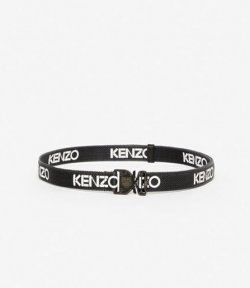KENZO BLACK HIKER TIGER LOCK BELT