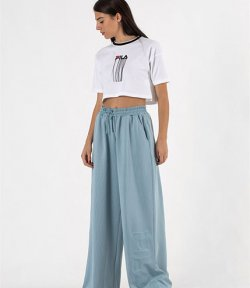 FILA EMBOSSED WIDE LEG PANT