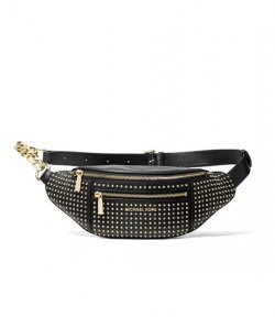 MICHAEL MICHAEL KORS BLACK MEDIUM WAISTPACK