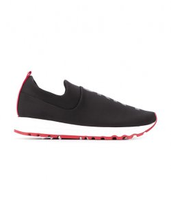 DKNY JADYN- BLACK SLIP ON SNEAKER