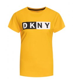 DKNY LOGO ORANGE T-SHIRT