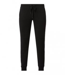 DKNY BLACK LOGO PANTS