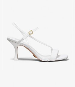 MICHAEL MICHAEL KORS TASHA OPTIC WHITE SANDAL