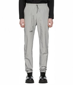 HELIOT EMIL TECHNICAL GREY JOGGERS