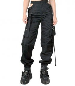 NAMILIA BUMSTER CUT OUT WORKWEAR PANTS