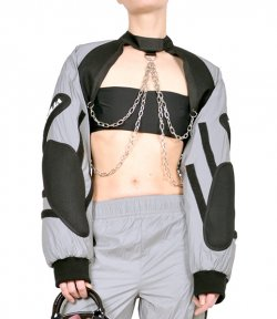 NAMILIA TACTICAL CHOKER SWEATER