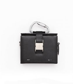 HELIOT EMIL LEATHER CABINER BOX BAG