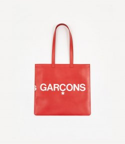 COME das  GARCONS RED HUGE LOGO