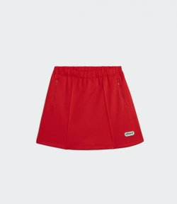 ADIDAS X LOTTA VOLKOVA RED TENNIS SKIRT
