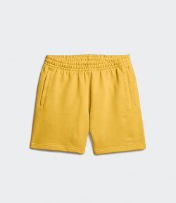 ADIDAS X PHARRELL WILLIAMS YELLOW BASICS SHORT