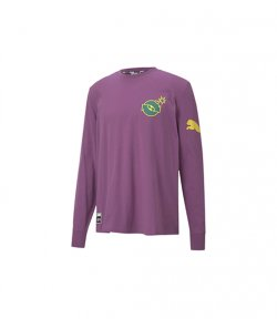 PUMA X THE HUNDREDS AMETHYST LS TEE