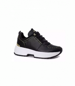 MICHAEL KORS COSMO TRAINER LEATHER/ASTOR STUDS